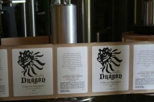 troll beads dragon label
