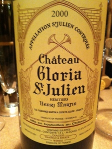chateau gloria 2000
