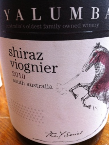 yalumba shiraz/viognier 2010 y series