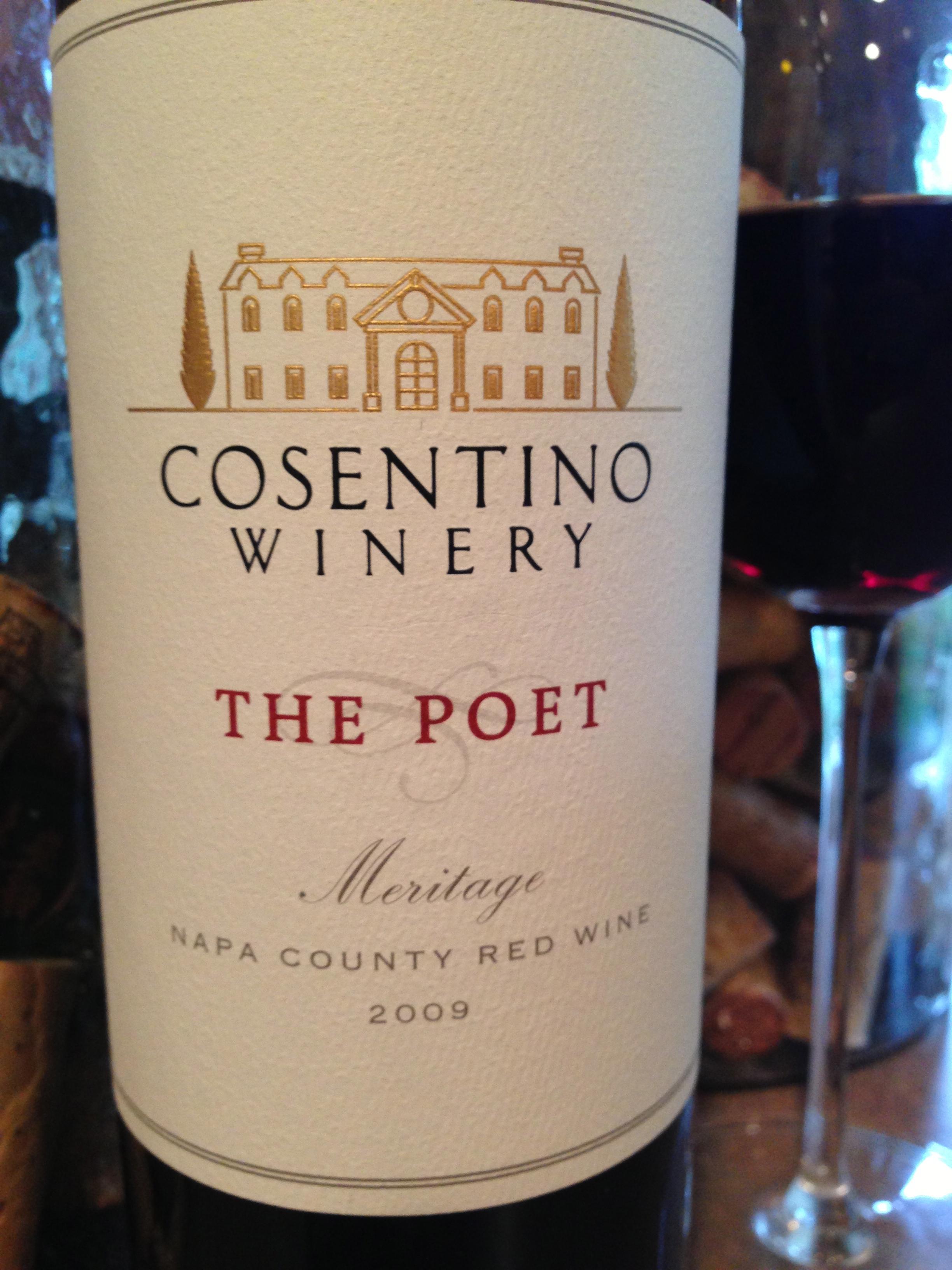 Cosentino 'The Poet' 2009 | Caspernick's Blog