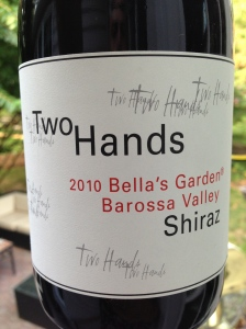 two hands bella's garden barrossa shiraz