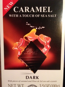 Lindt's Caramel and Sea Salt