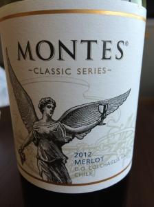 montes classic series merlot 2012