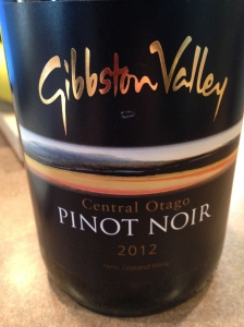 gibbston valley pinot noir central otago