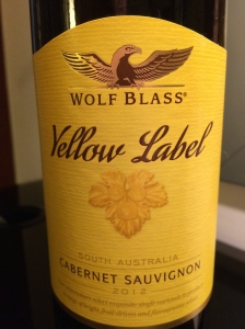 wolf glass yellow label cabernet sauvignon