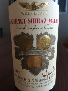 wolf blass cabernet shiraz malbec