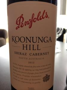 penfolds koonunga hills shiraz cabernet
