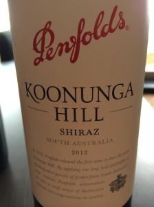 penfolds koonunga hills shiraz
