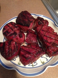 filet mignon on big green egg