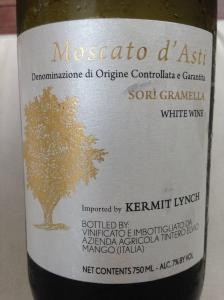 Moscato d'Asti Sori Gramella, Azienda Agricola Tintero Elvio