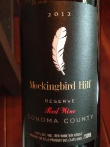 mockingbird hill reserve sonoma