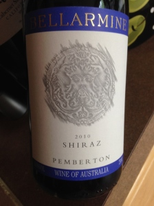bellarmine shiraz