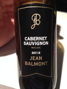 jean balmont cabernet sauvignon
