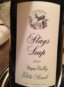 stag leap petite sirah