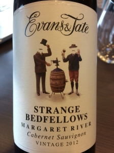 evans and tate strange bedfellows cabernet sauvignon margaret river