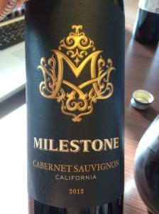 milestone cabernet sauvignon