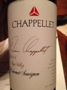 chapellet cabernet sauvignon