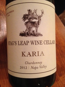 stags leap Karia chardonnay