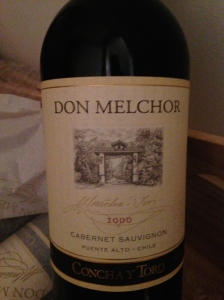 Don Melchor 2000, unwrapped