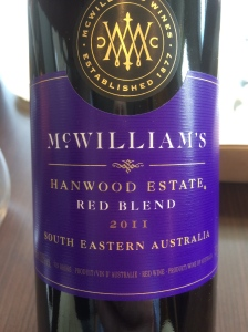 mcwilliams hamwood red blend