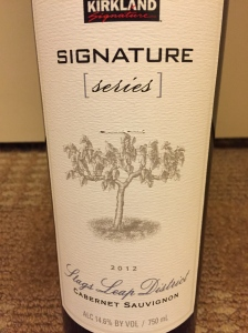 kirkland signature series cabernet sauvignon stags leap