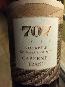 707 rockpile cabernet franc