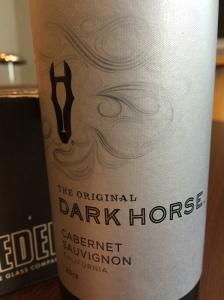 darkhorse cabernet sauvignon