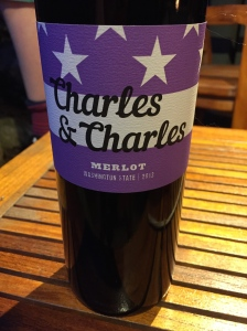 Charles and Charles Merlot- not reviewed