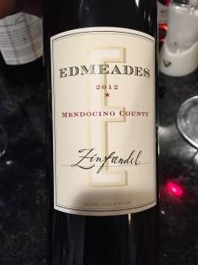 Edmeades Zinfandel Mendocino County