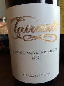 clairault cabernet sauvignon merlot