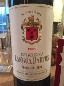 langoa barton 2003