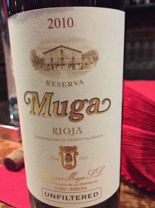 muga reserva unfiltered