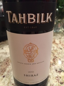 tahbilk shiraz
