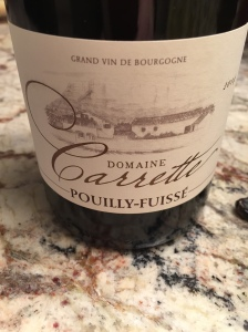 domaine carrette pouilly fuise