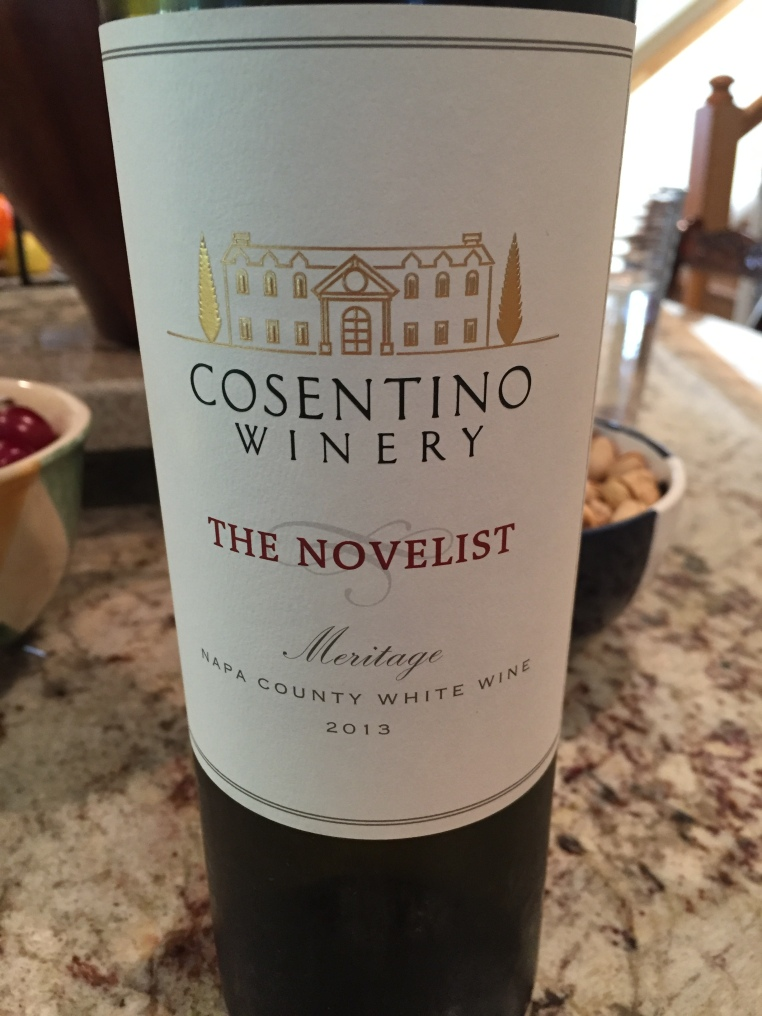 cosentino the novelist