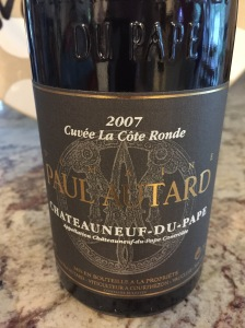 paul autard chateauneuf du pape