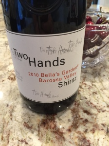 two hands bella's garden barossa shiraz