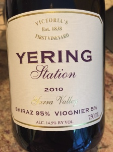 bering station shiraz viognier yarra valley