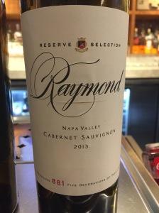 raymond reserve selection napa valley cabernet sauvignon