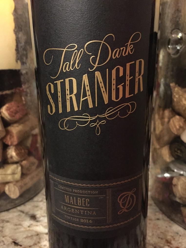 tall dark stranger malbec