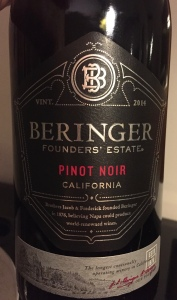 bringer founders estate pinot noir
