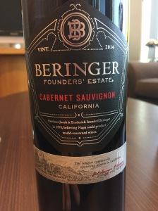 beringer founders estate cabernet sauvignon