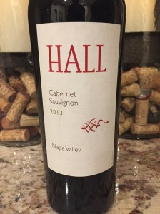 hall cabernet sauvignon napa valley