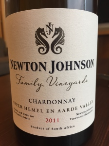 Newton Johnson family vineyards chardonnay hemel-en-aarde