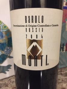 Monti Bussia, Barolo DOCG, Italy