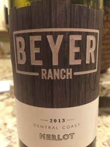 beyer ranch merlot