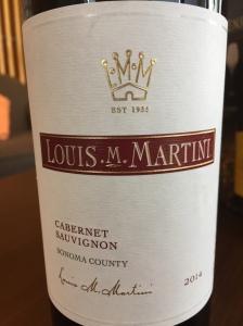 Louis M. Martini Sonoma County Cabernet Sauvignon