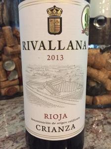Rivallana Crianza, Rioja DOCa, Spain
