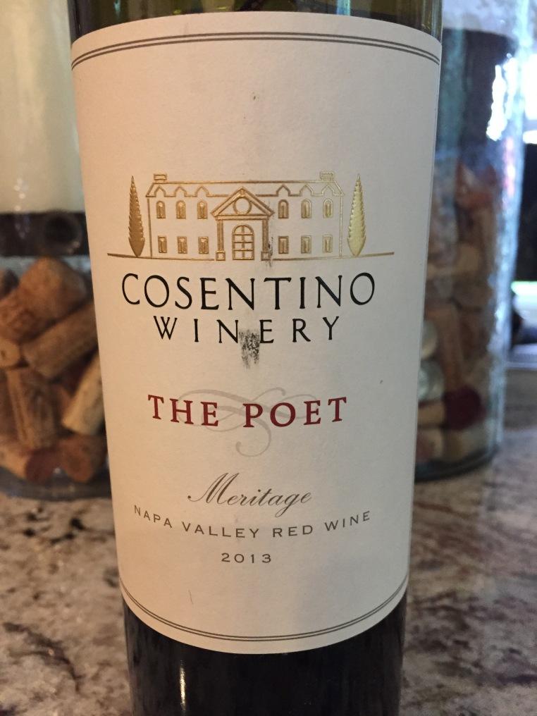 Cosentino Winery The Poet Meritage, Napa Valley, USA