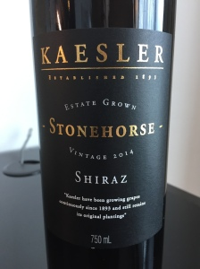 kessler stone horse shiraz